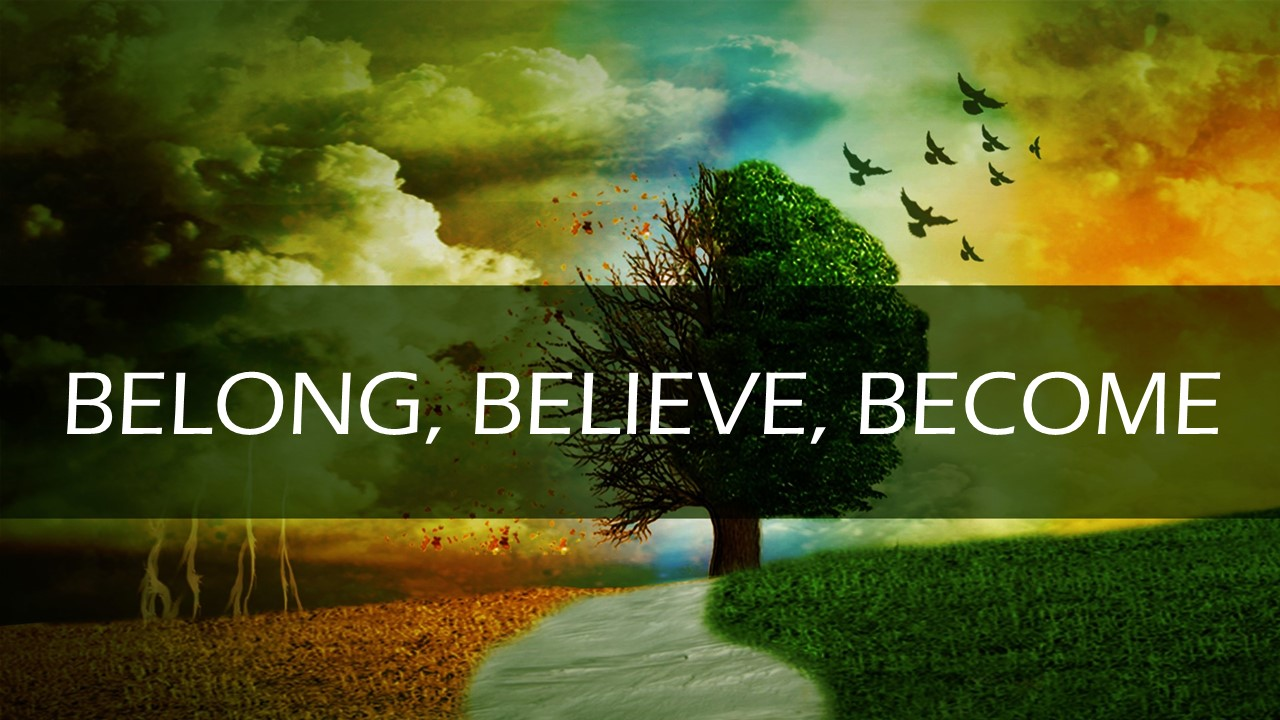 Belong, Believe, Become - These three sermons speak to important topics for new (and longtime) church goers. Belong speaks to each person's desire for a place to call family or home. Believe answers the question of what the most basic beliefs of the Christian faith are. Become explores our new identity as Christ followers.Click on image for sermon audio.