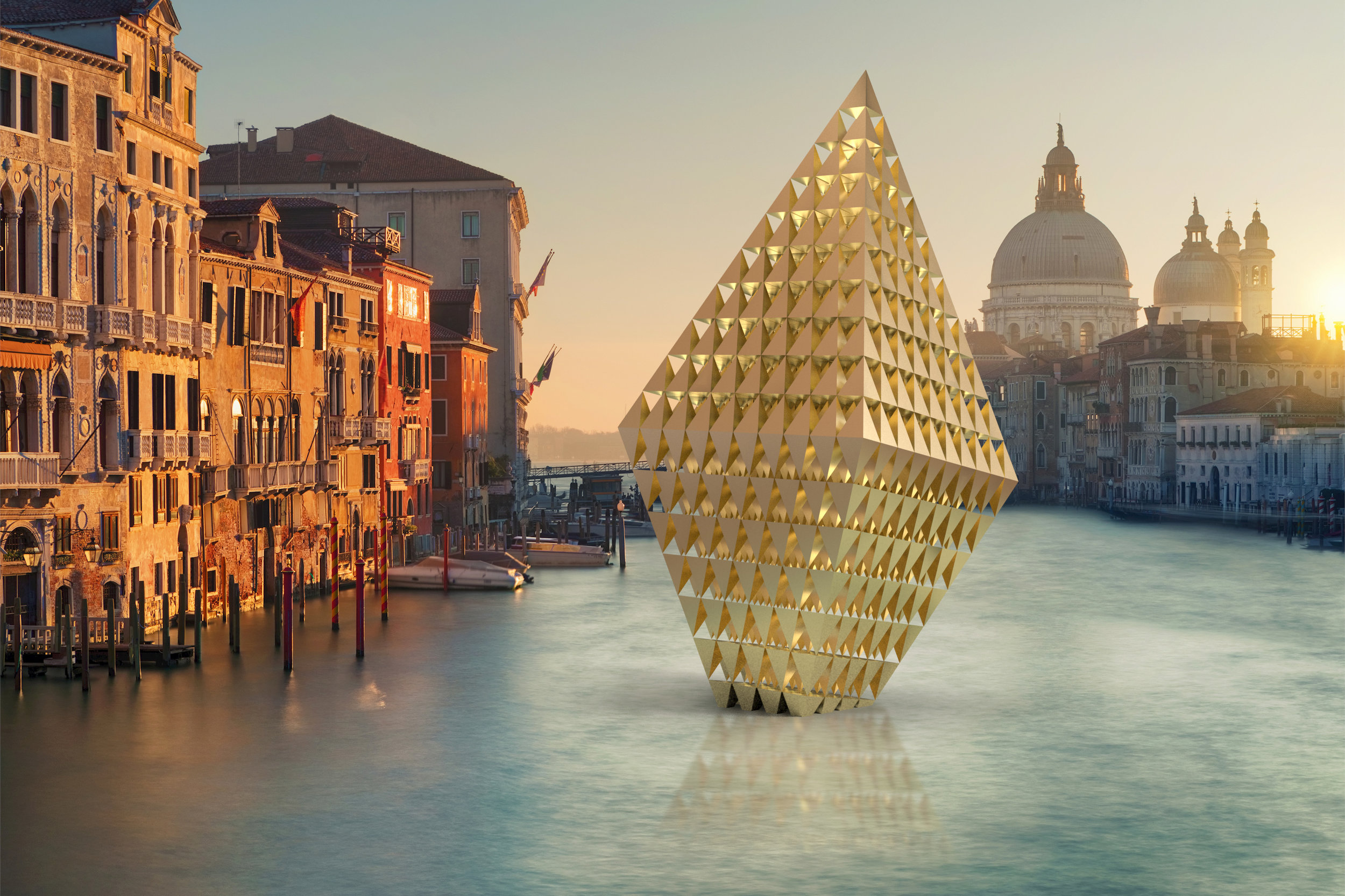 The Leaning Diamond of Venice