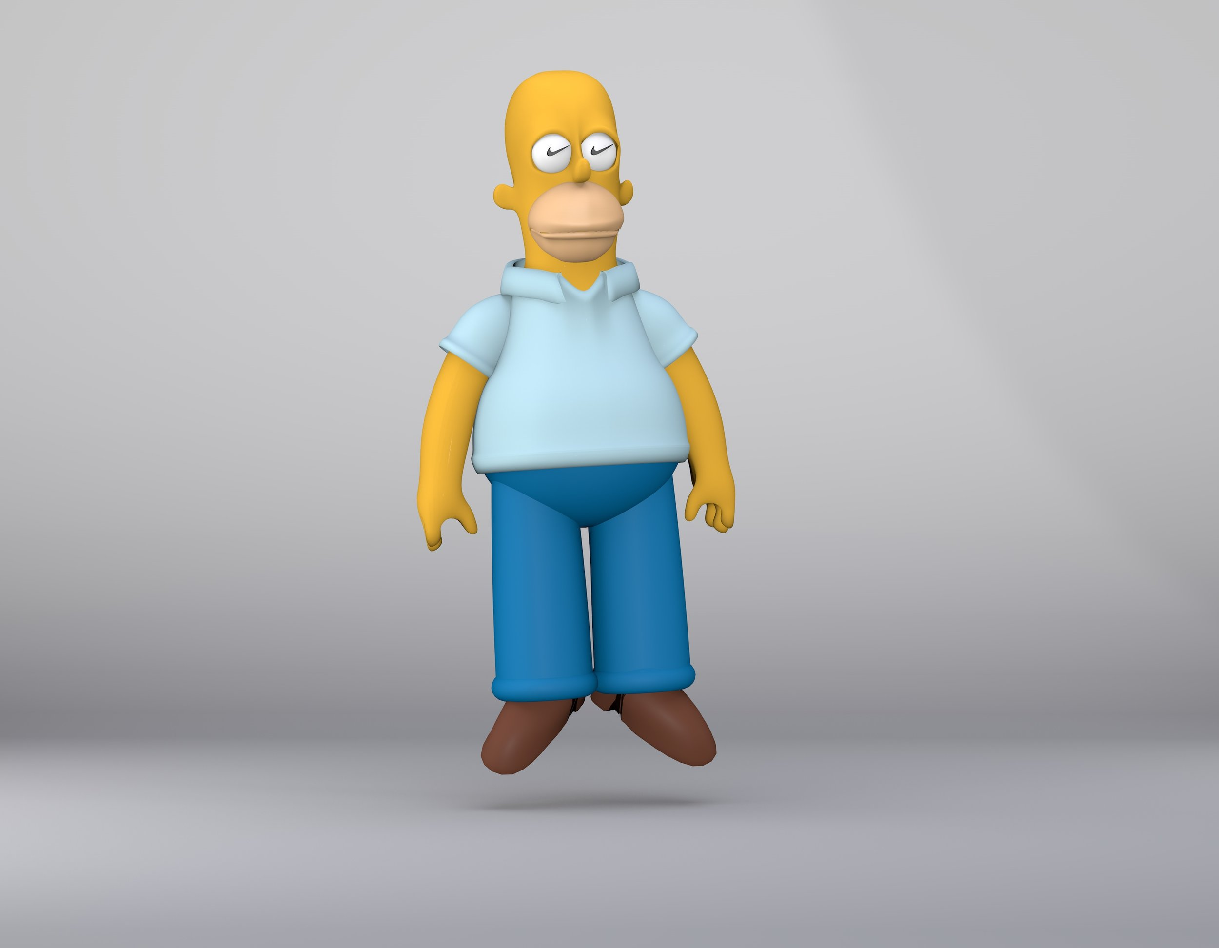 Floating Homer