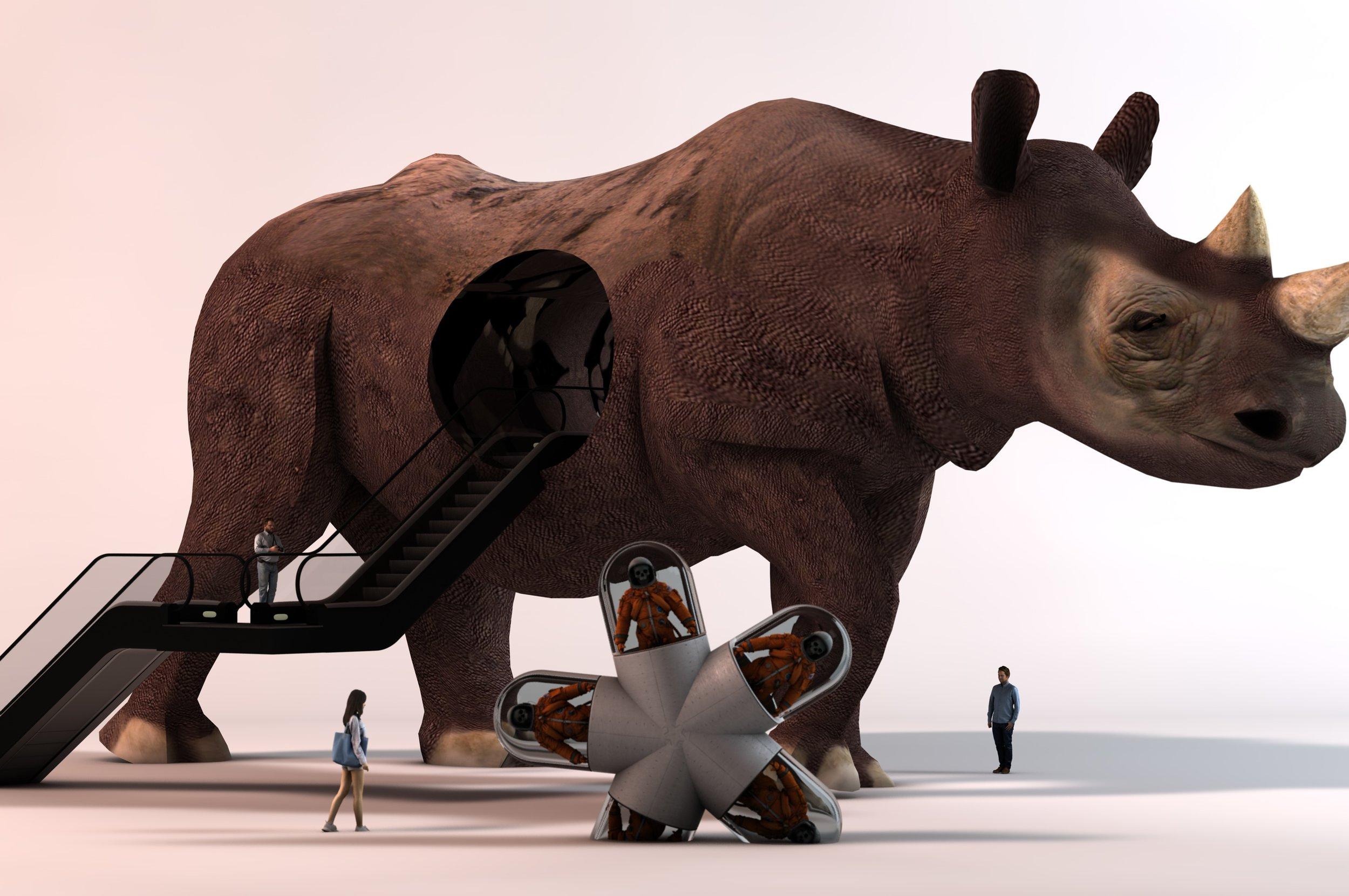 Rhino Escalator