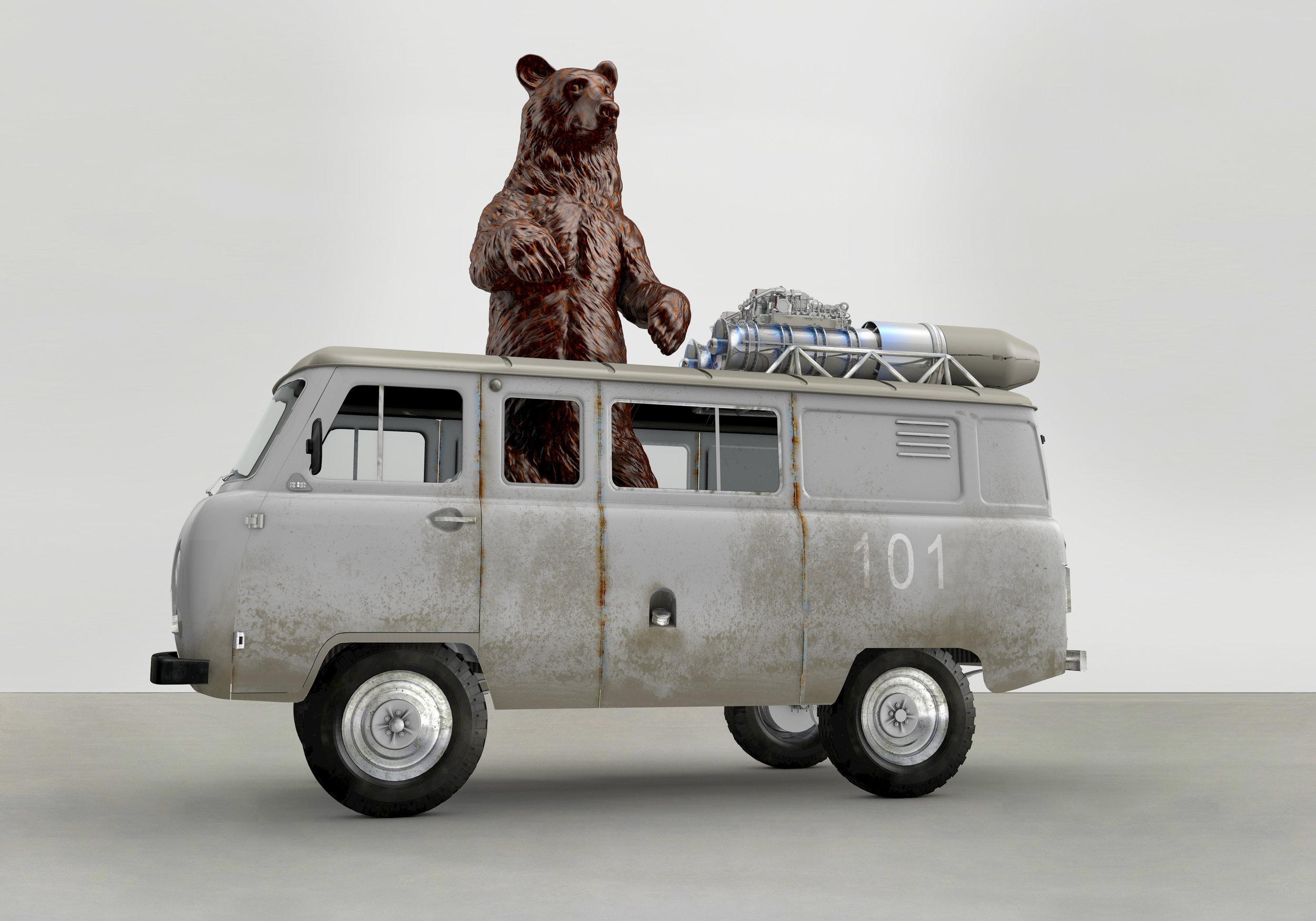 Black Bear Van