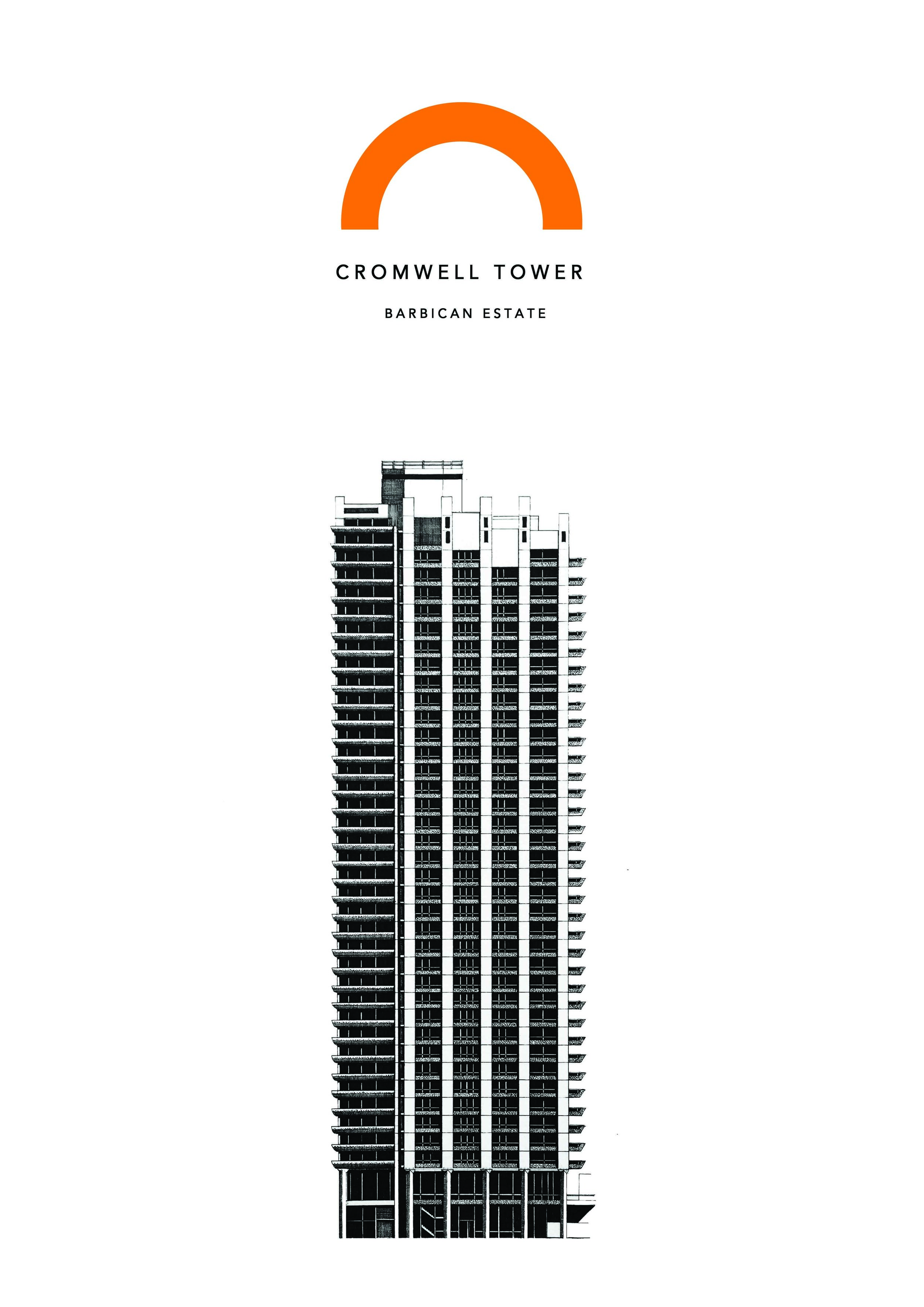 Cromwell Tower. Barbican Estate. London