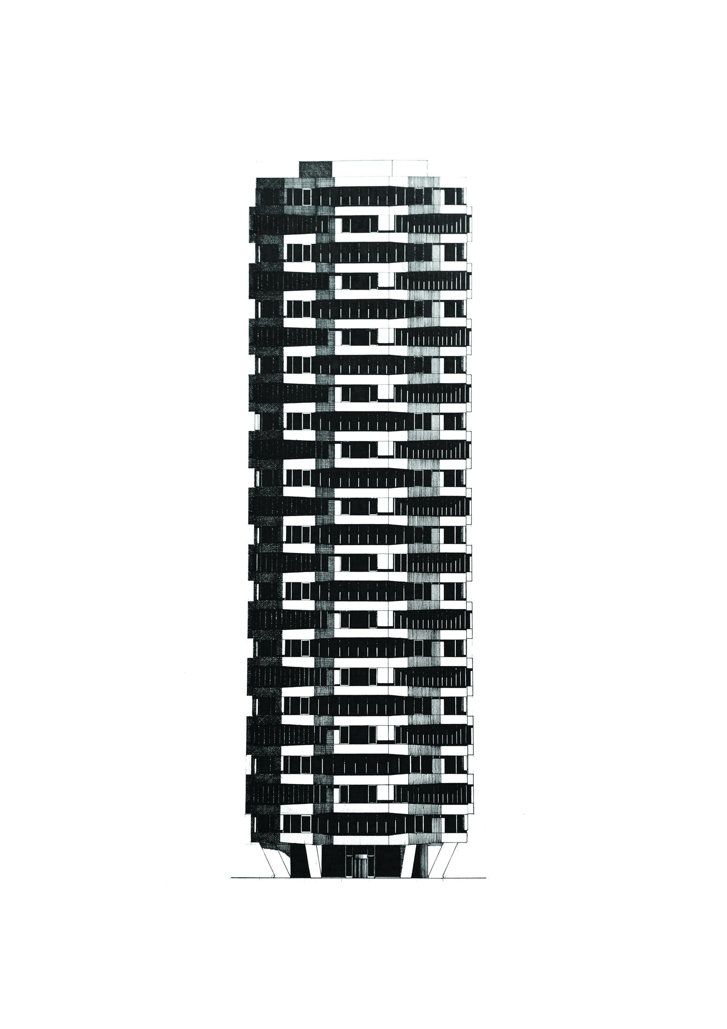 Former NLA Tower (One Croydon)