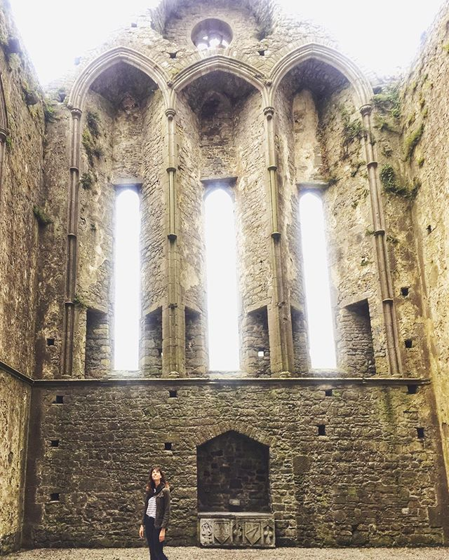 What is it like to grow up around things so old? Seriously, if you know, please tell me. ✨ . #wheniwasaprincess #thepastispresent #ireland #wanderwoman #travel #history #wonder #thinplaces #cashel #rockofcashel #tipperary #soundslike #temporary #getoutside #ireland 📸@mrohrmeier