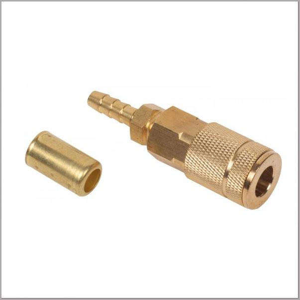 BAC01 - Coupler W/ Barb & Ferrule Adapter