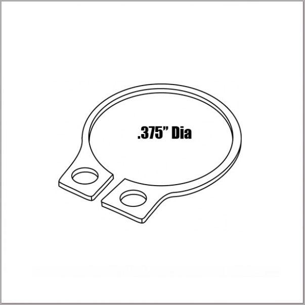PNBA153 - Retainer Ring for Brake Bleeder Adapter