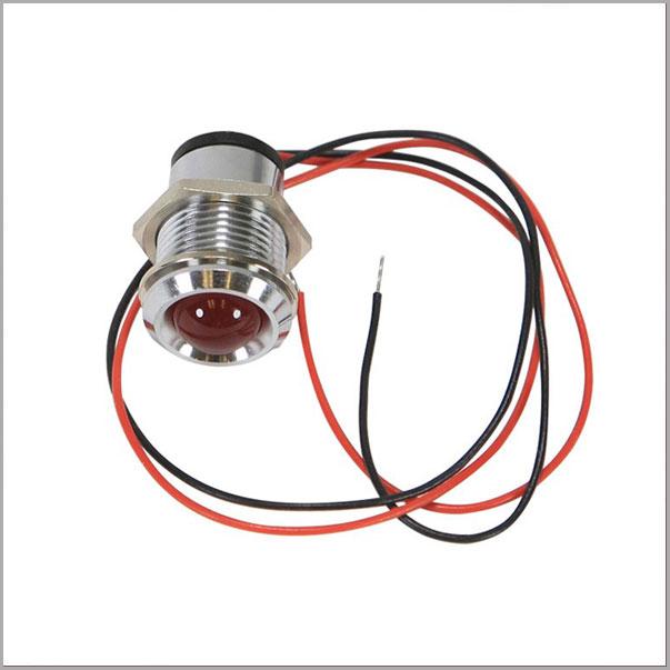 STLIGHT01 - Red Warning Light Assembly