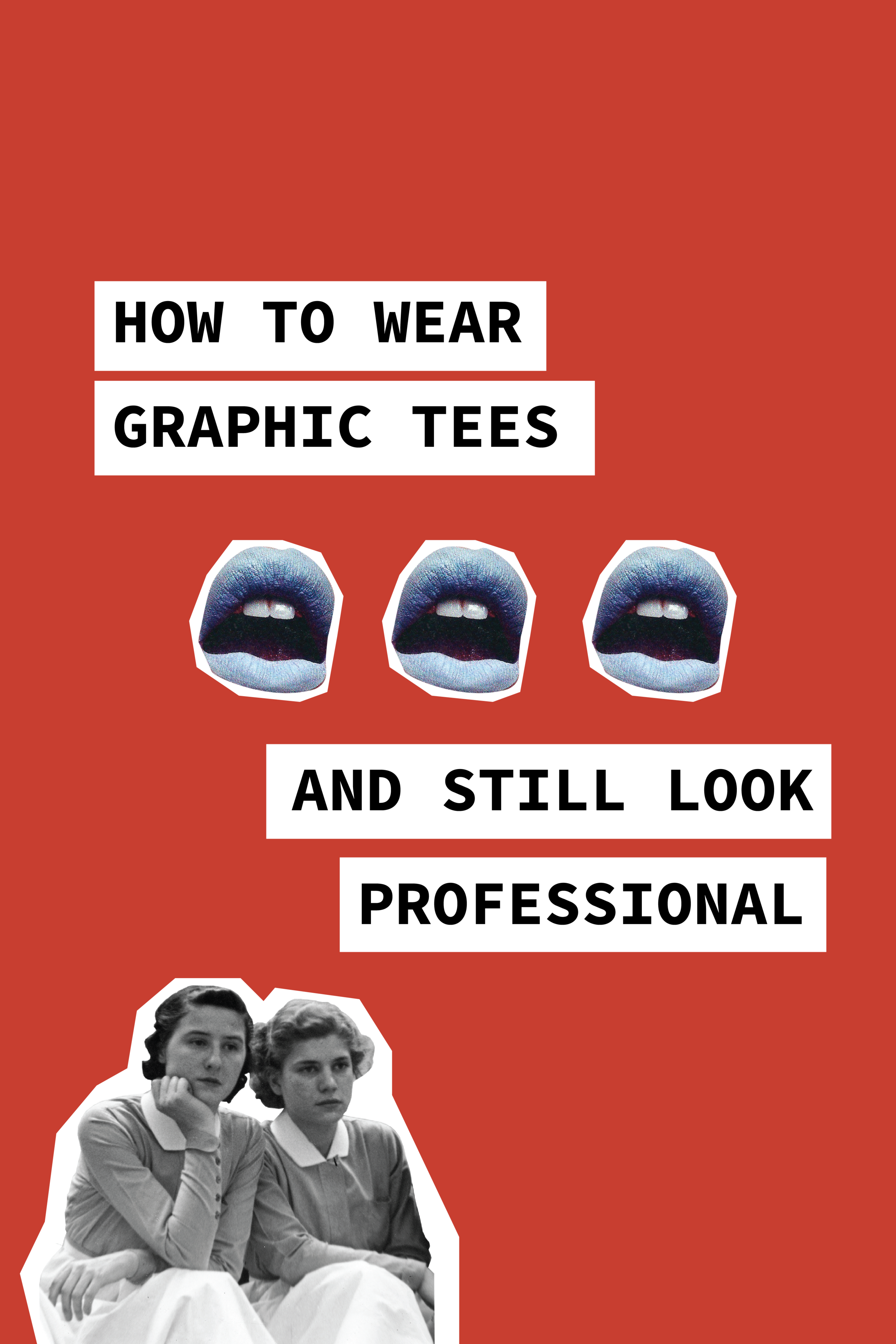 How To Wear Graphic Tees And Still Look Professional
