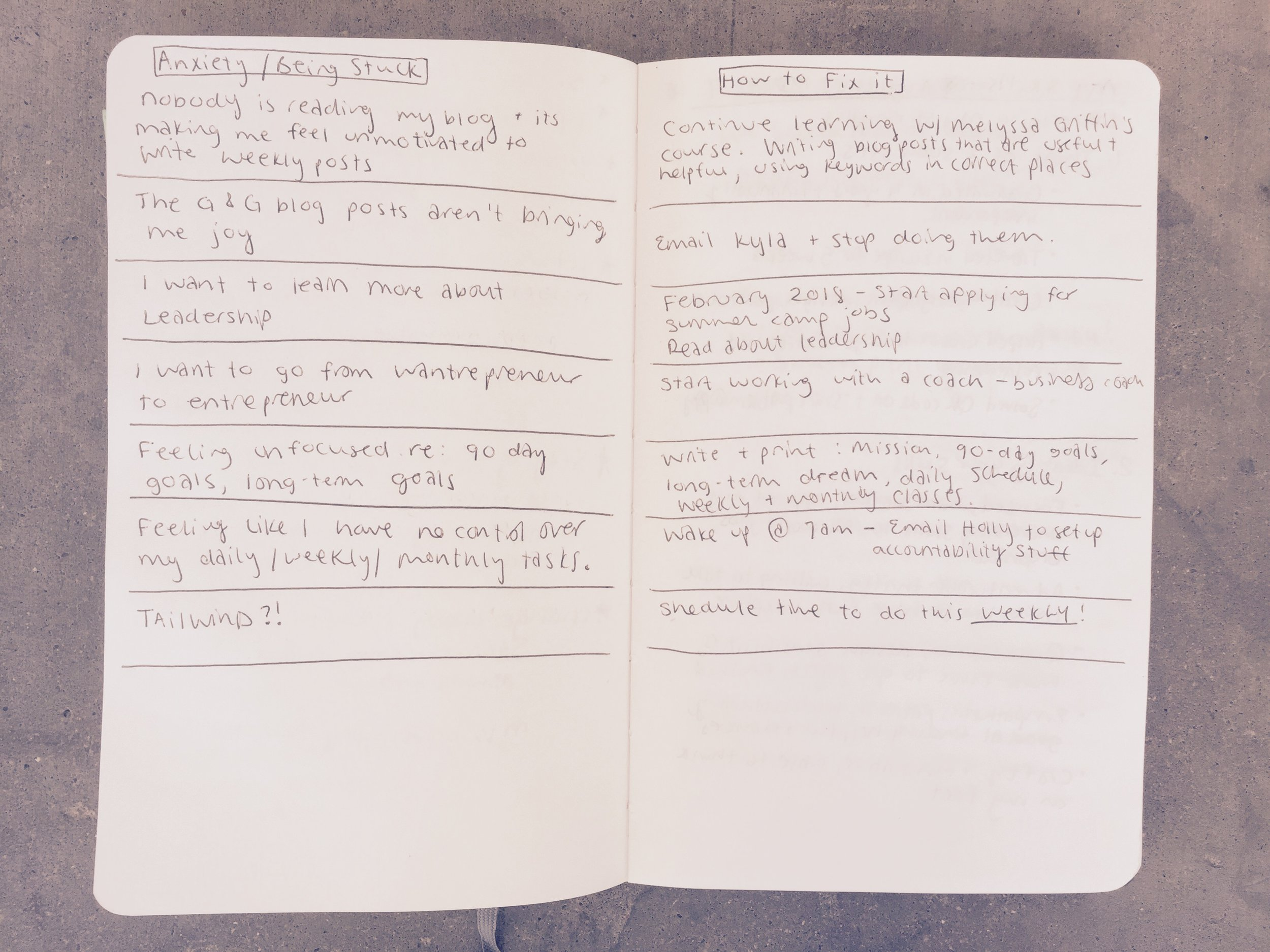 Five Minute Journaling Exercises To Diminish Anxiety and Take Action
