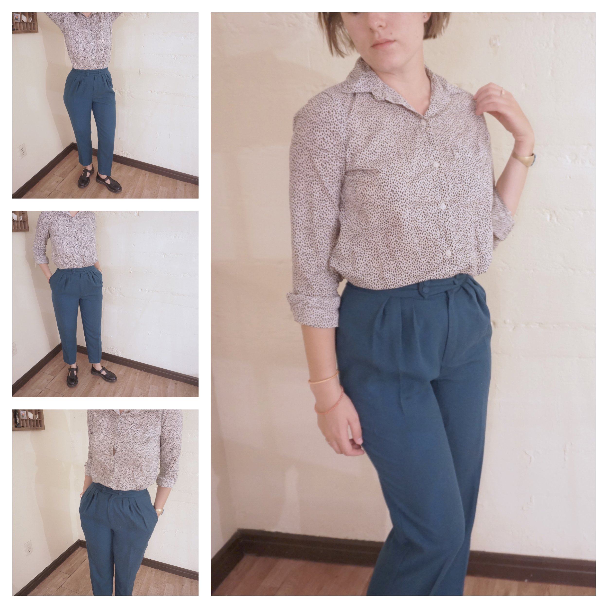Minimalist Creative Wardrobe Challenge: I Made 5 New Outfits Without Buying Any New Clothes