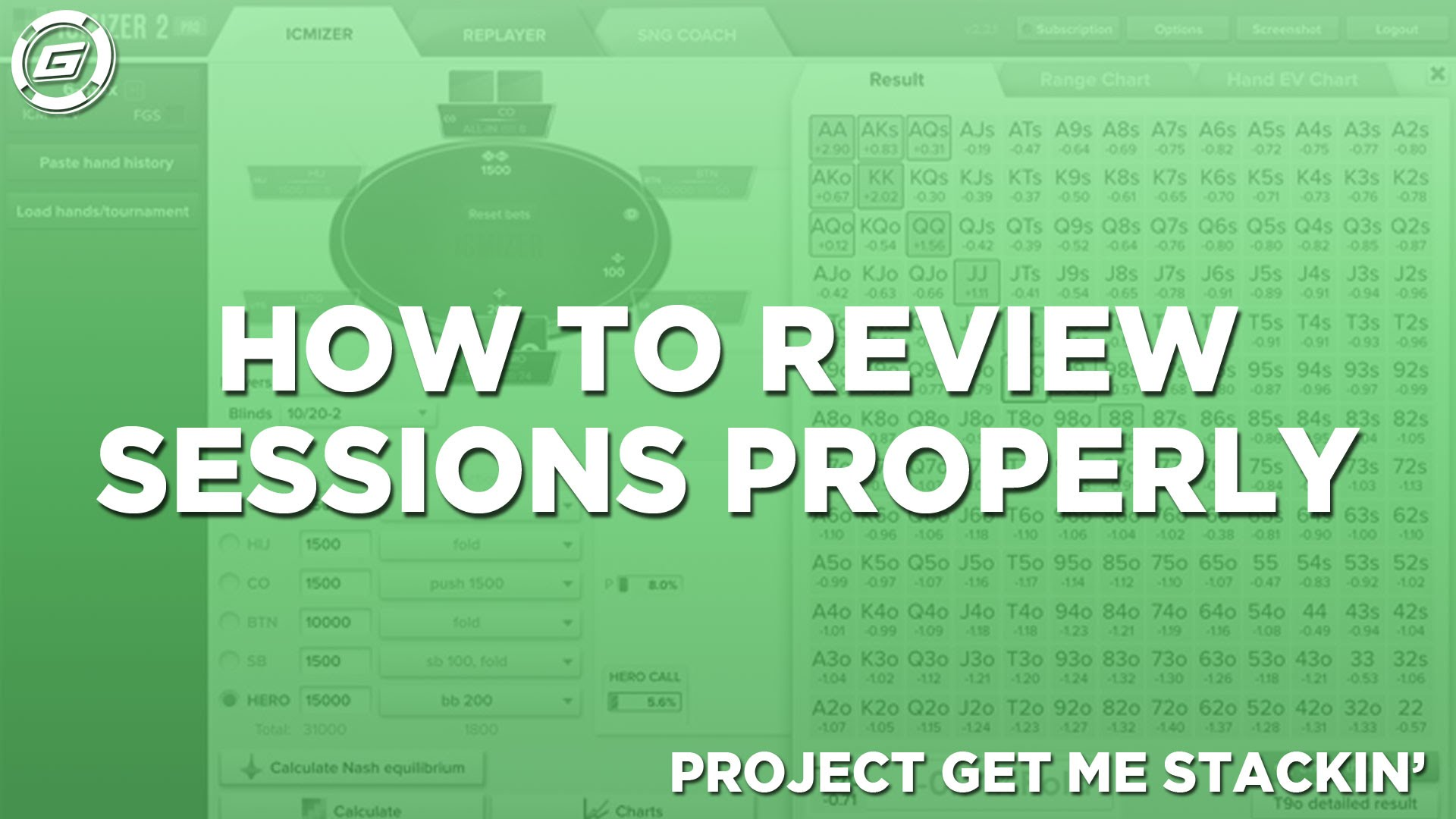 How To Review Poker Sessions Properly - LESSON #6