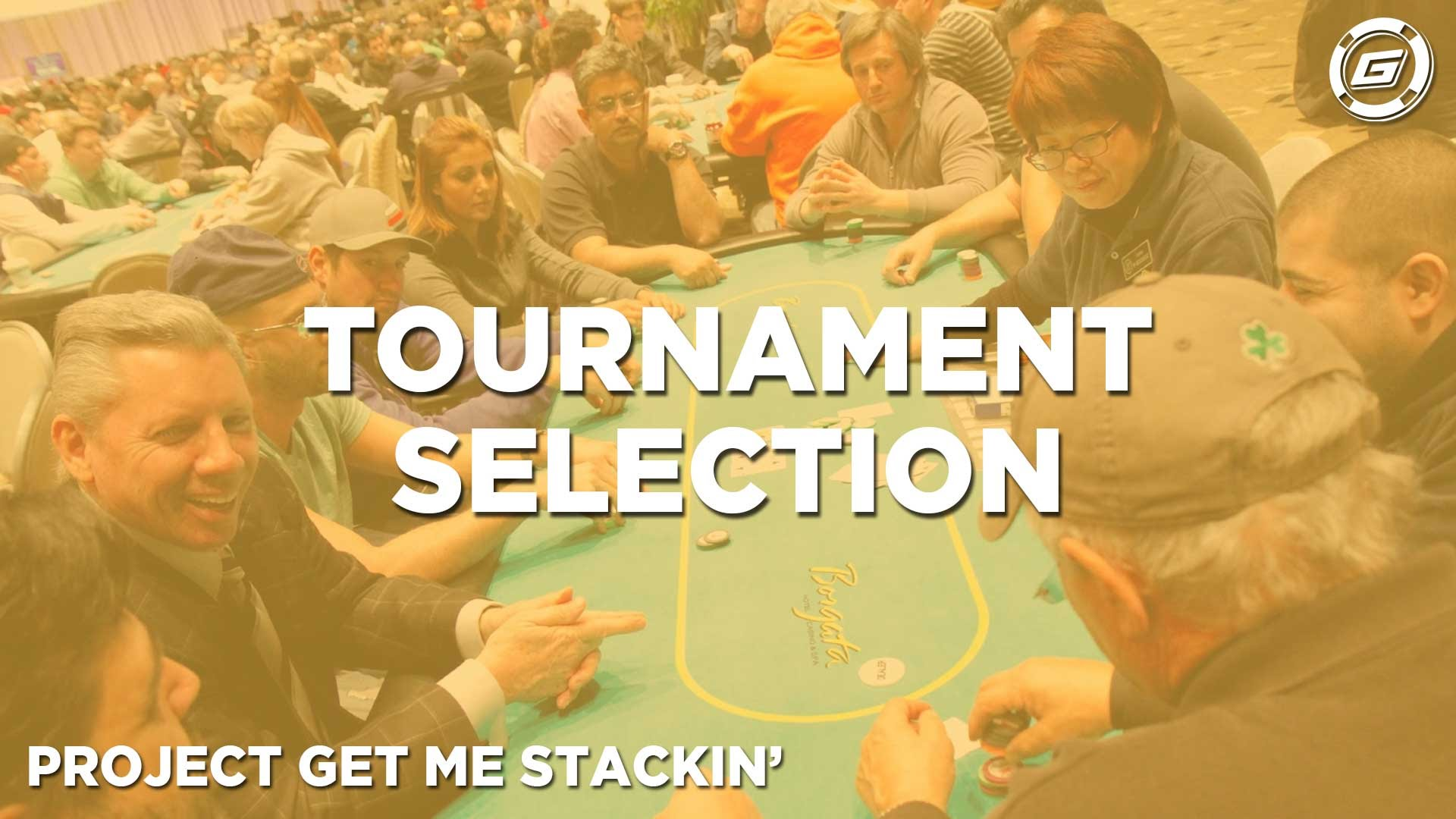 Tournament Selection For Online Poker - LESSON #2