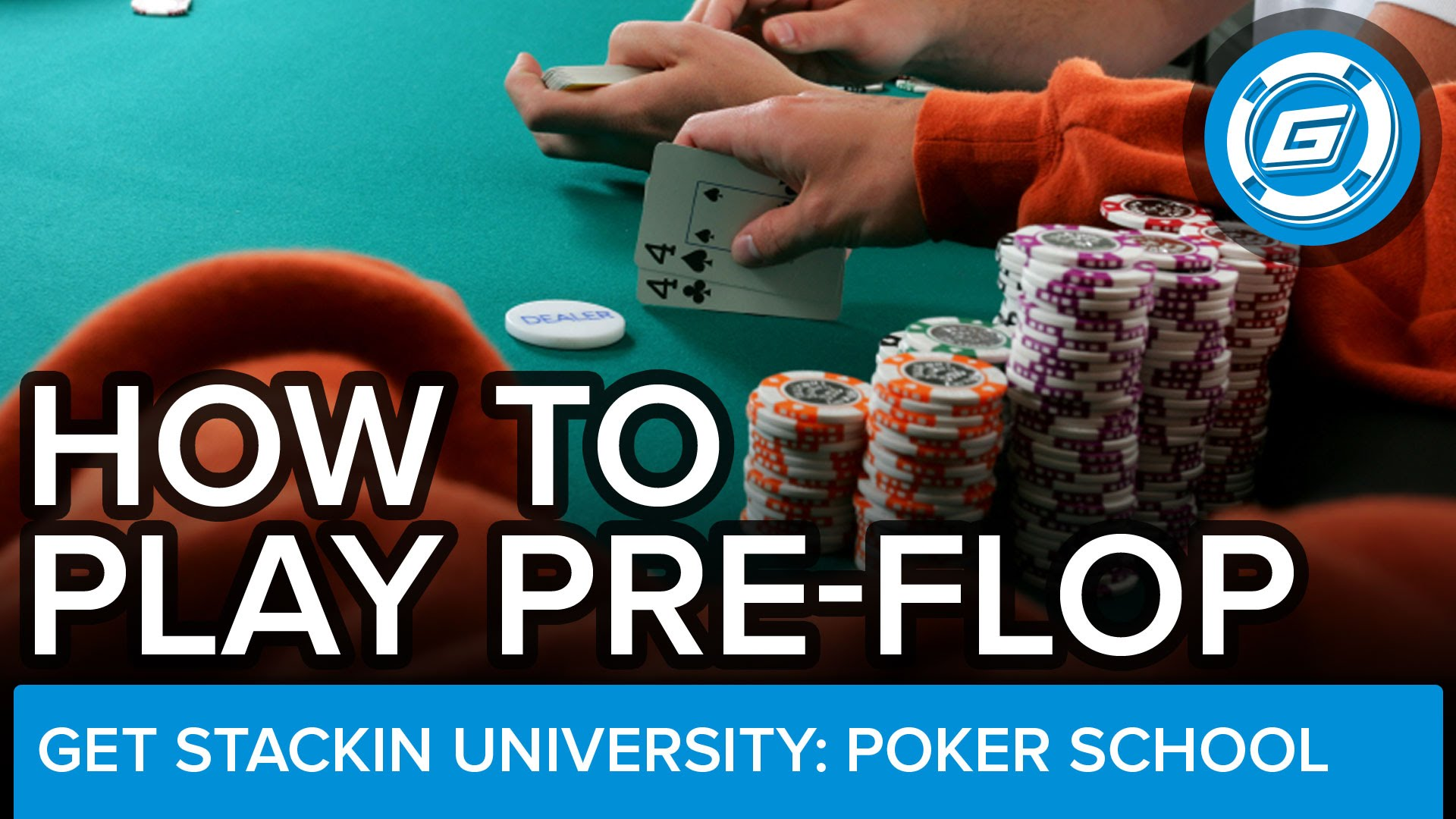 How To Play Pre-Flop Poker Properly In No-Limit Hold'Em - LESSON #8