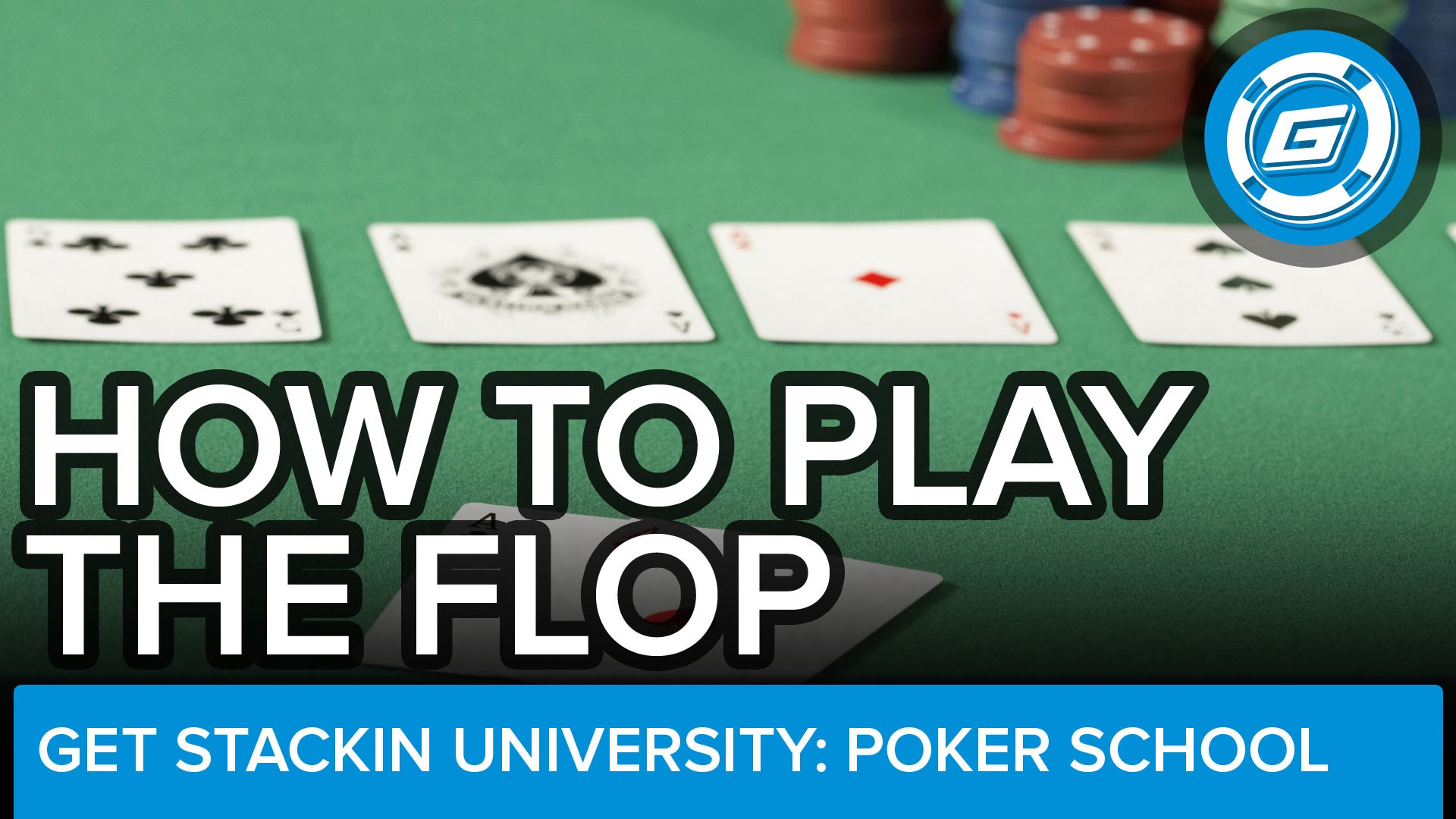 How To Play The Flop (NLH) - Winning Poker Strategy - LESSON #9