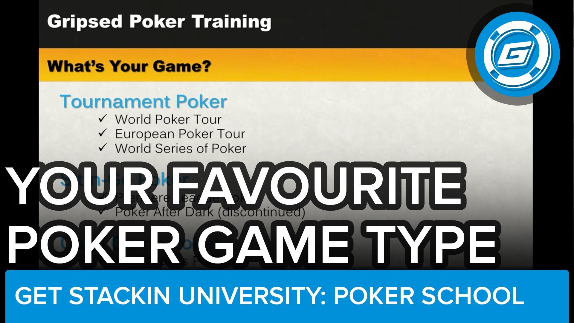 What Type Of Poker Should You Play? Cash Games, Sit 'N Go's Or Multi-Table Tournaments? - LESSON #23