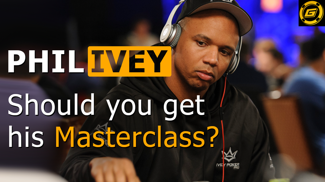 The Best Poker Player of All Time, Phil Ivey, Finally Teaches The Rest Of Us How To Play Poker.