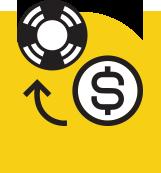 Make a deposit & claim your bonuses.