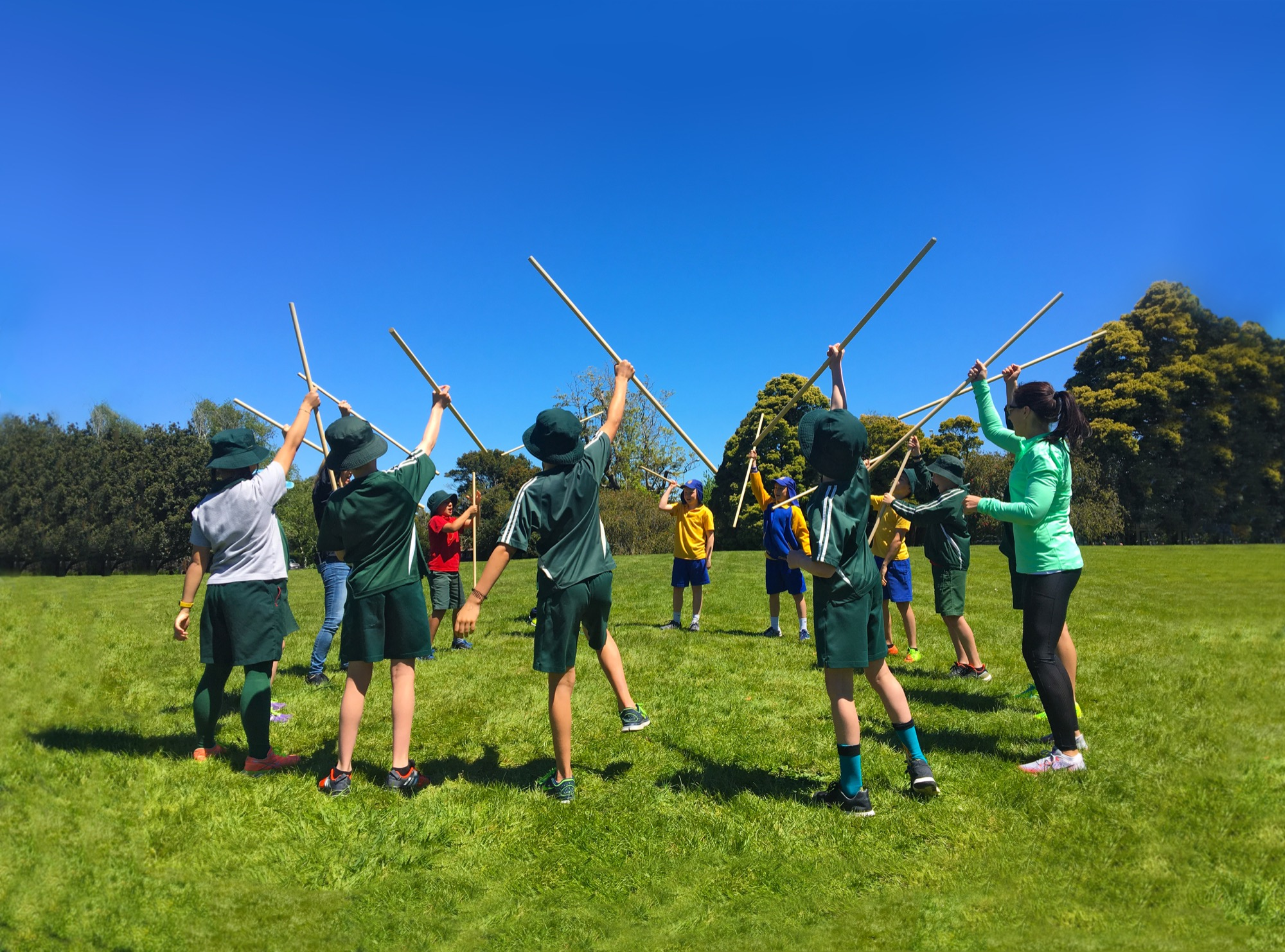 Traditional Maori Games Programme