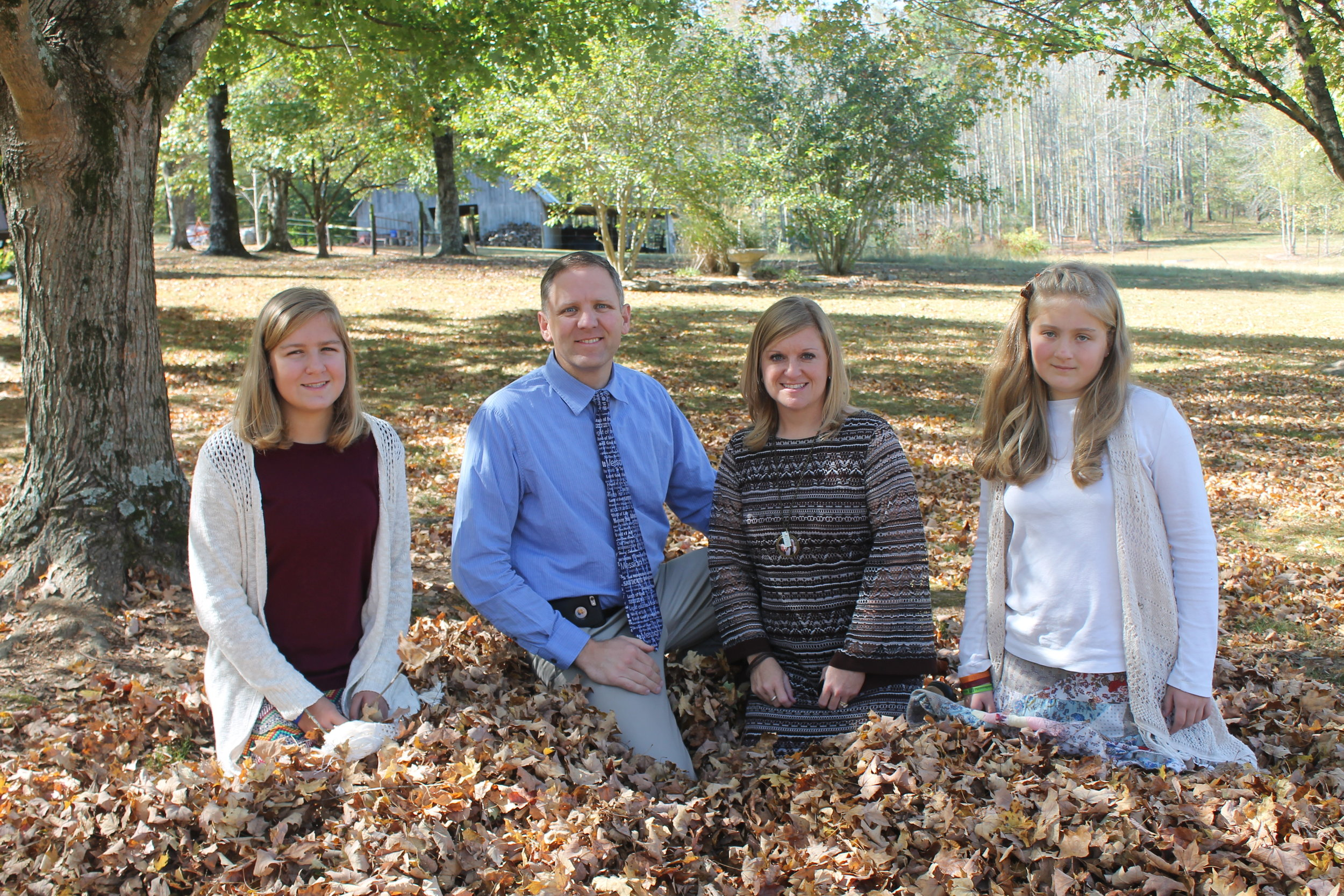 Michael & Michael Cagle, Madison, Maci, help lead our youth ministry.