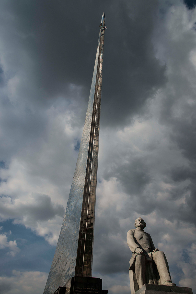 """Christopher Makos, Monument to the Conquers of Space, 2011, archival pigment print, 24x17"""""""