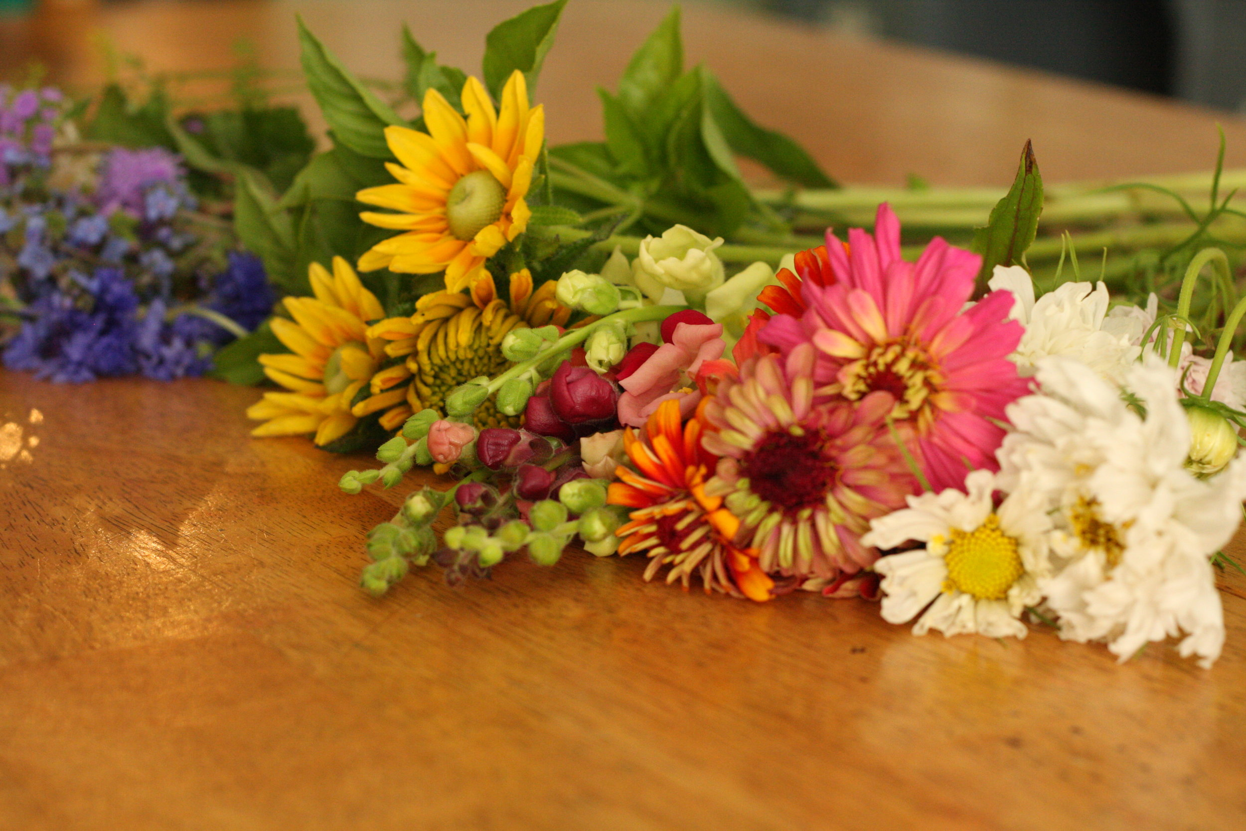 Create Your Own Bouquets With Confidence Three Acre Farm