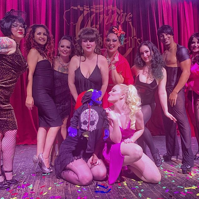 Thanks to @fringewithbenefitsburlesque for having us out last night. This is the closest @thefragilekyle has been to a woman that's not his mom.