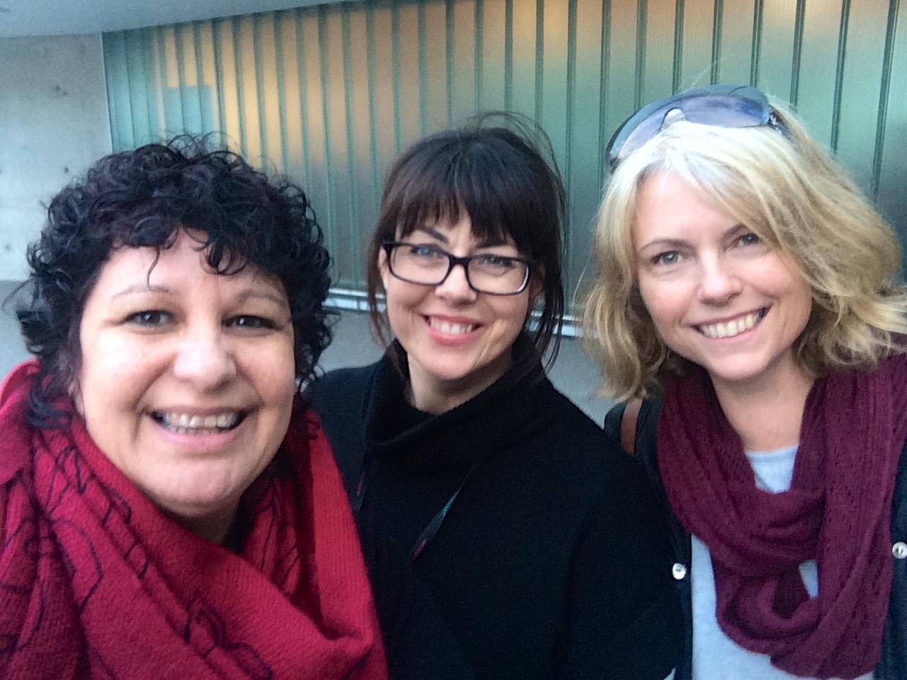 The research team: Me, Alison & Treena