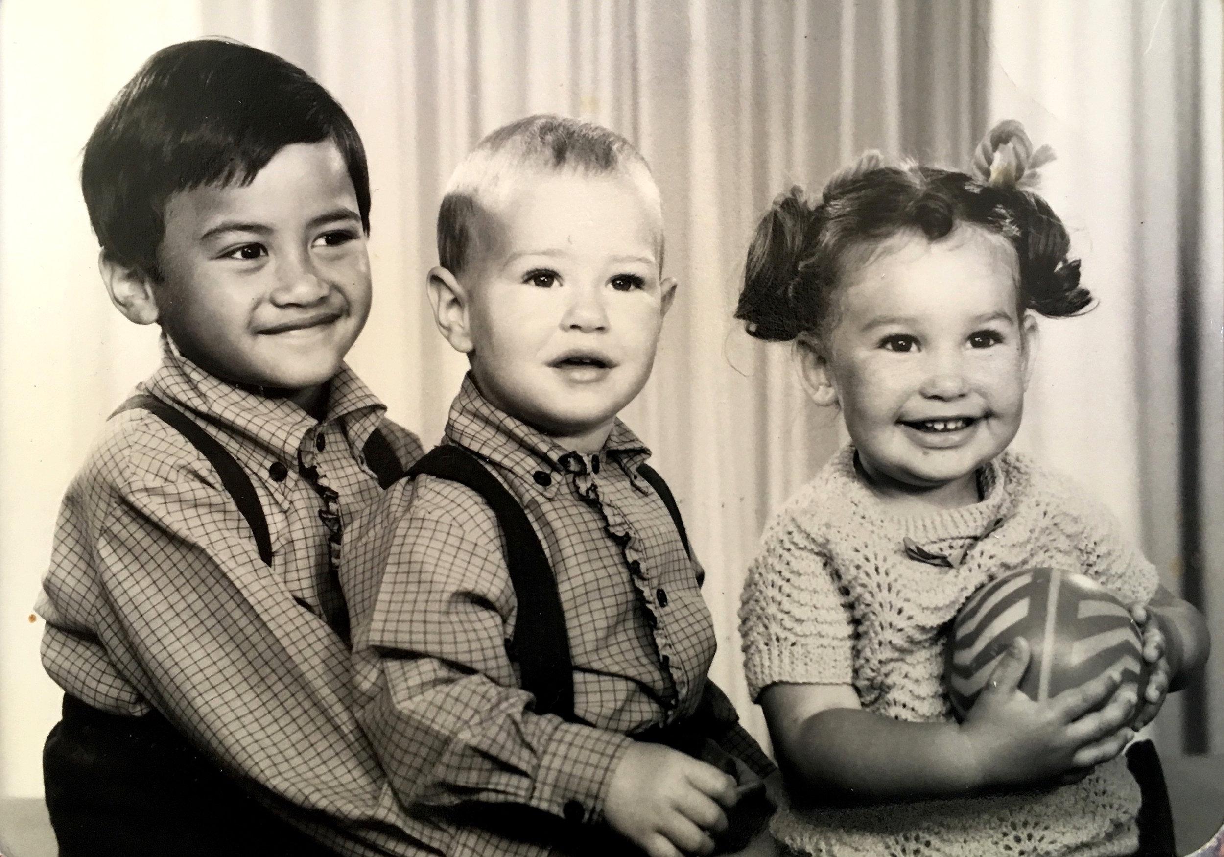 Michael, Quintin & me