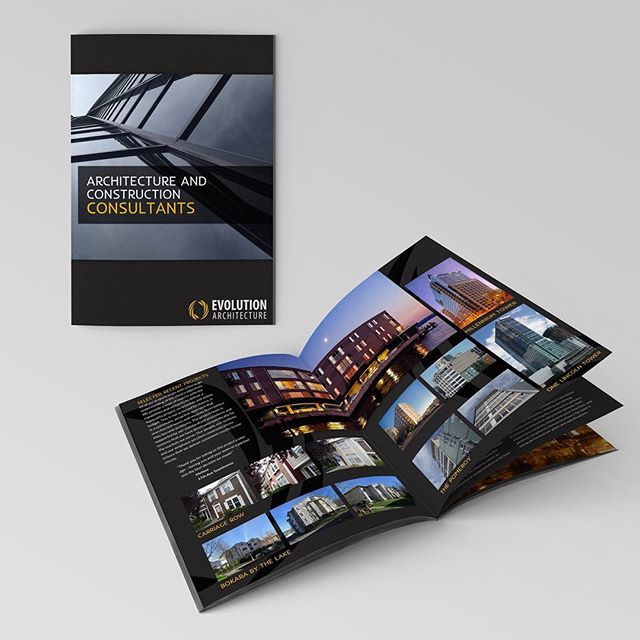 Need marketing materials? We print high quality multi-page brochures and catalogs! Visit our new website for all our custom print services 👆🏼link in our bio.