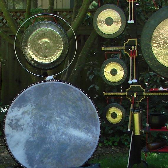 Sound Bath: Tranquil Sound Gardens - LOCATION: HEART LODGE/DANCE HALL