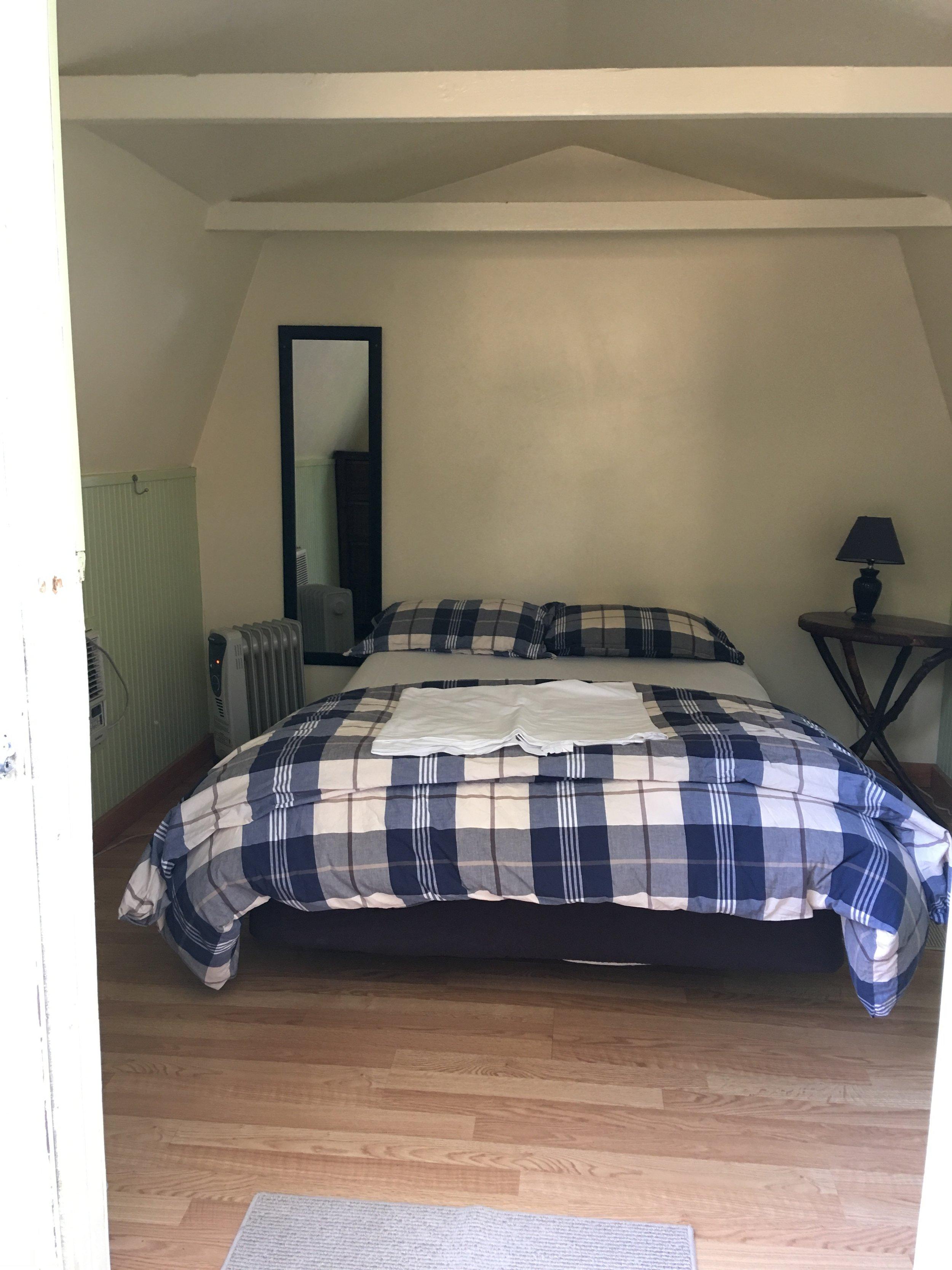 Wood Tent Cabin Interior 2
