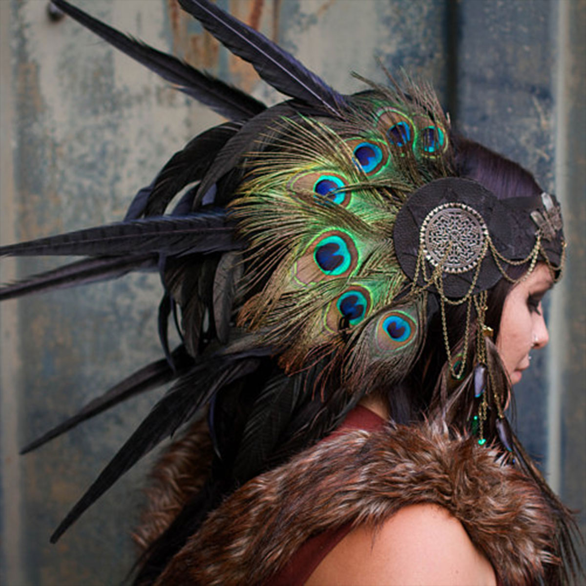 Bless is More - Your one stop empowerment shop for the gods and goddesses of all walks of life. We specialize in handcrafted leather headpieces, jewelry and sacred ceremonial tools for your personal magick and medicine rituals.HEXENFEST SPONSOR