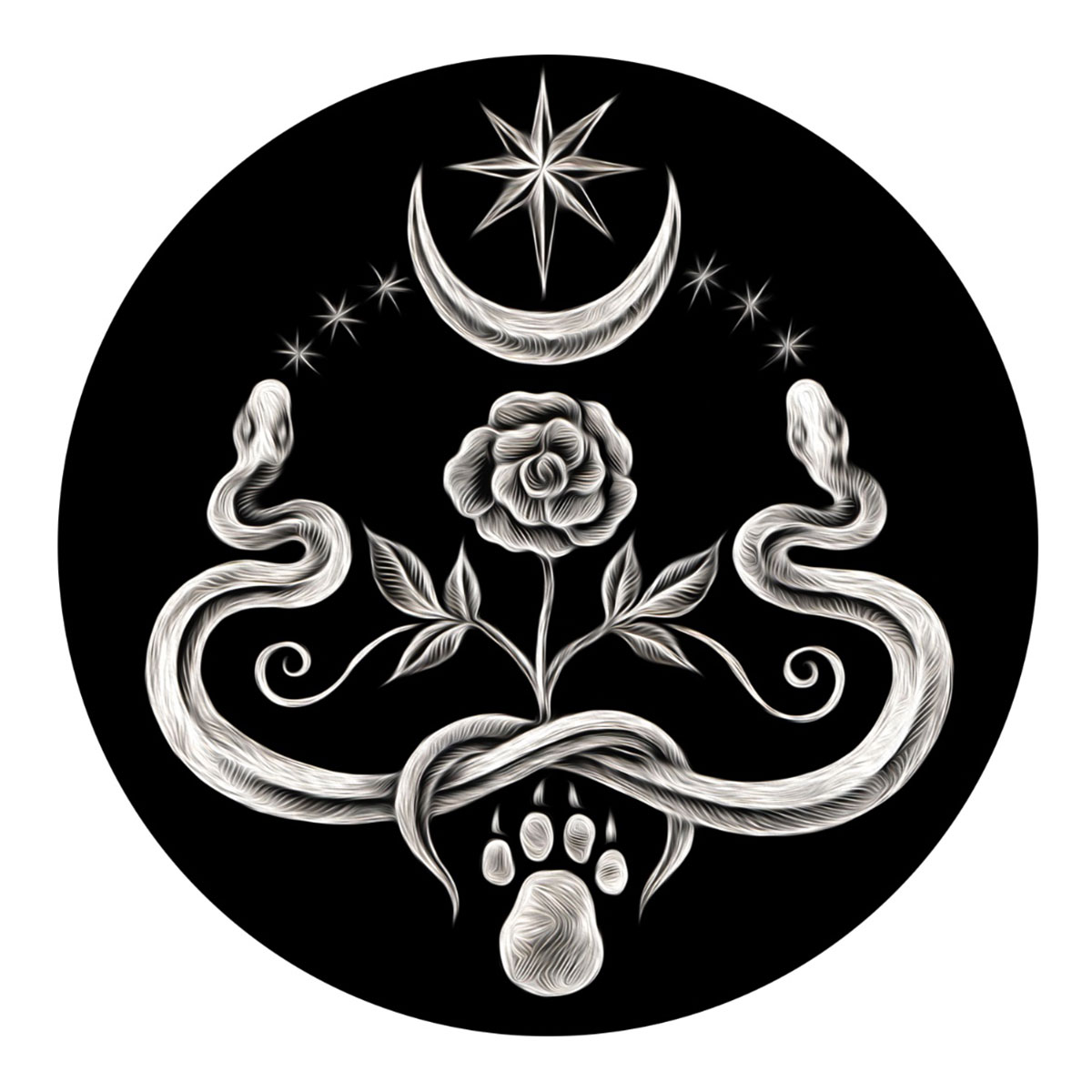 Forge and Fountain - Unique jewelry, apotropaic jewelry and charms, handforged offering bowls and spoons, tarot decks, art