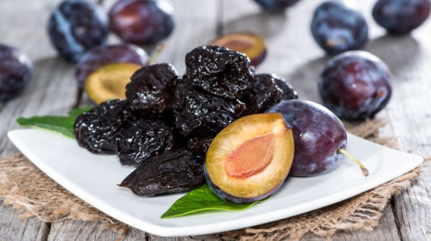 Prunes can greatly help babies (and adults!) with constipation. See below in the post for more specific information. * Photo from NDTV.com.