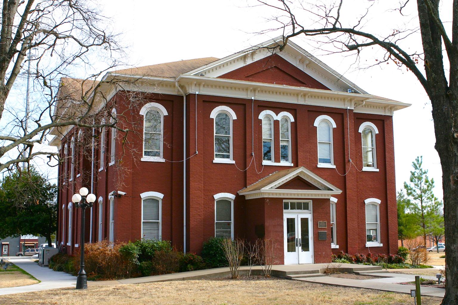 Cherokee Courthouse, Tahlequah, Oklahoma