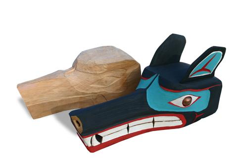 Cedar Masks, James De La Cruz