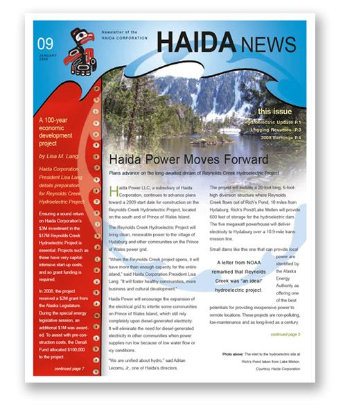 Haida Corporation Newsletter