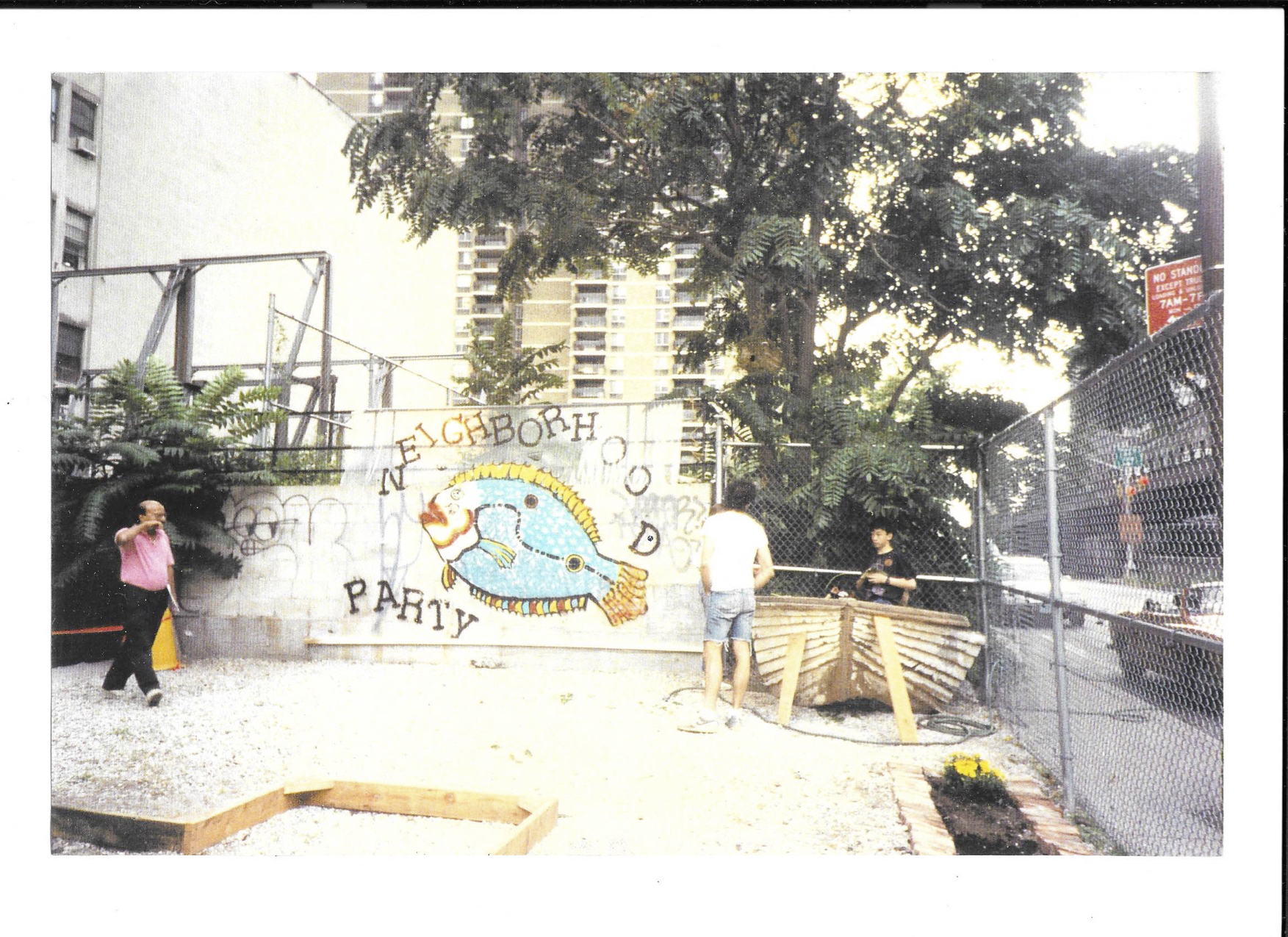 The Beginnings of FishBridge Park, 1991