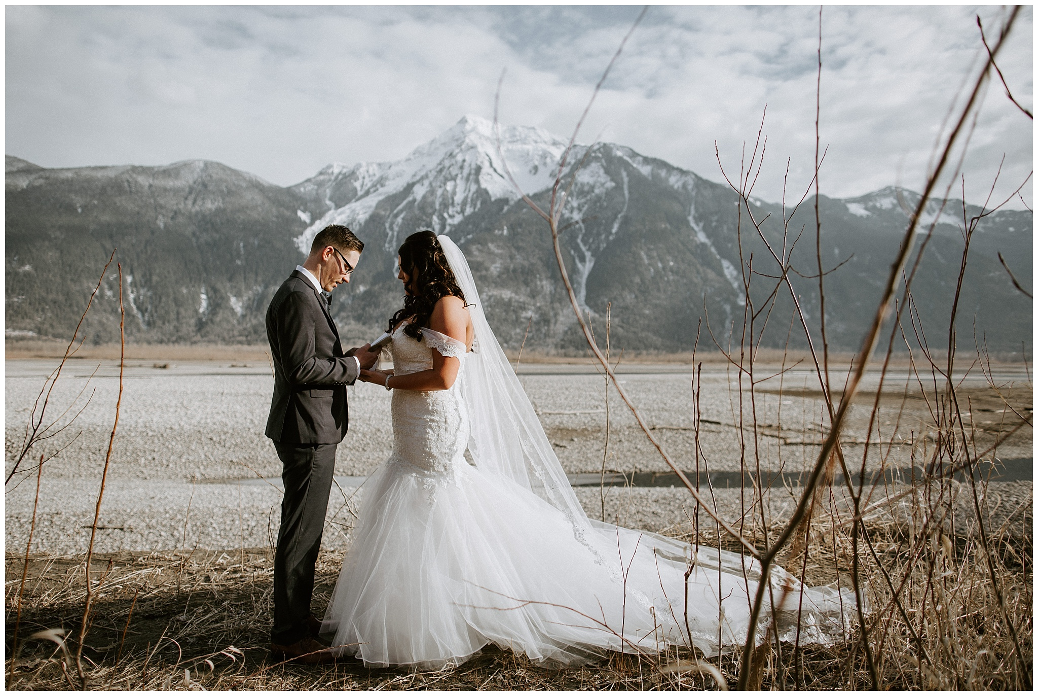 Bohemian wedding at the Fraser River Lodge