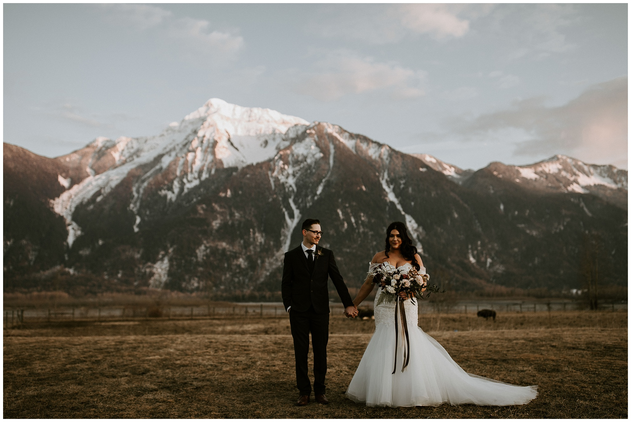 A Wedding at the Fraser River Lodge