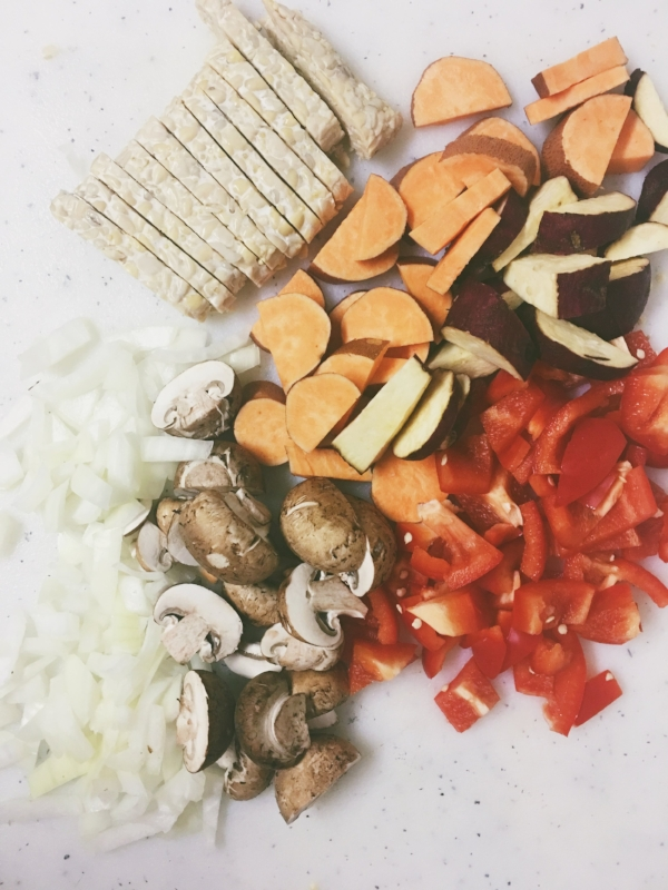 Easy Red Curry Stir Fry