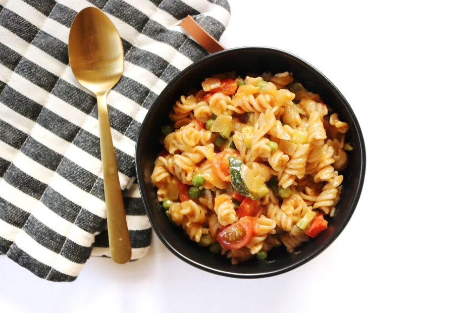 red curry pasta