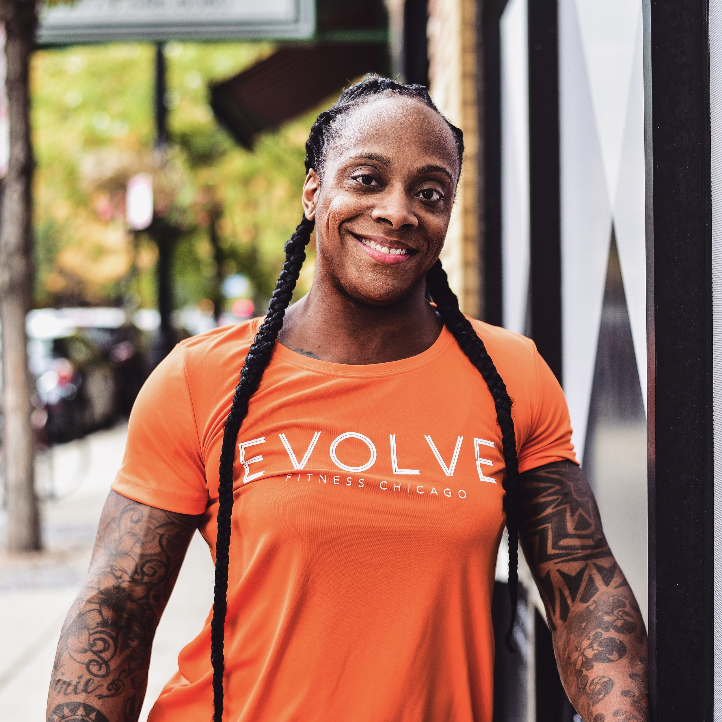 reshanna boswell evolve fitness chicago
