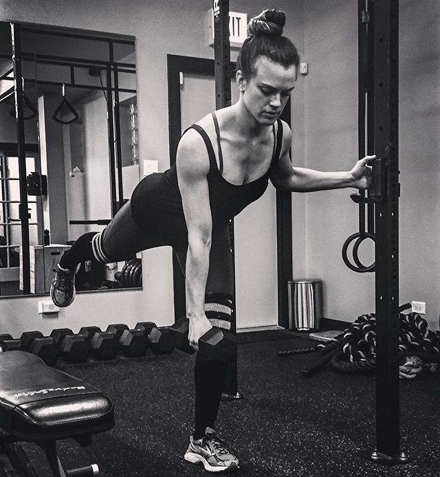 """Meet our amazing trainer, Christina Fischer. 🏋️♀️ """"I am certified with NASM and NPTI, and have also worked as a Tier 3 Personal Trainer at Equinox. I am a NASM Corrective Exercise Specialist, am certified in pre/post natal programming, and have over 15 years experience in strength training, flexibility, athletics, and injury prevention. I aim to inspire others to find their motivation and live their own fitness dream."""""""