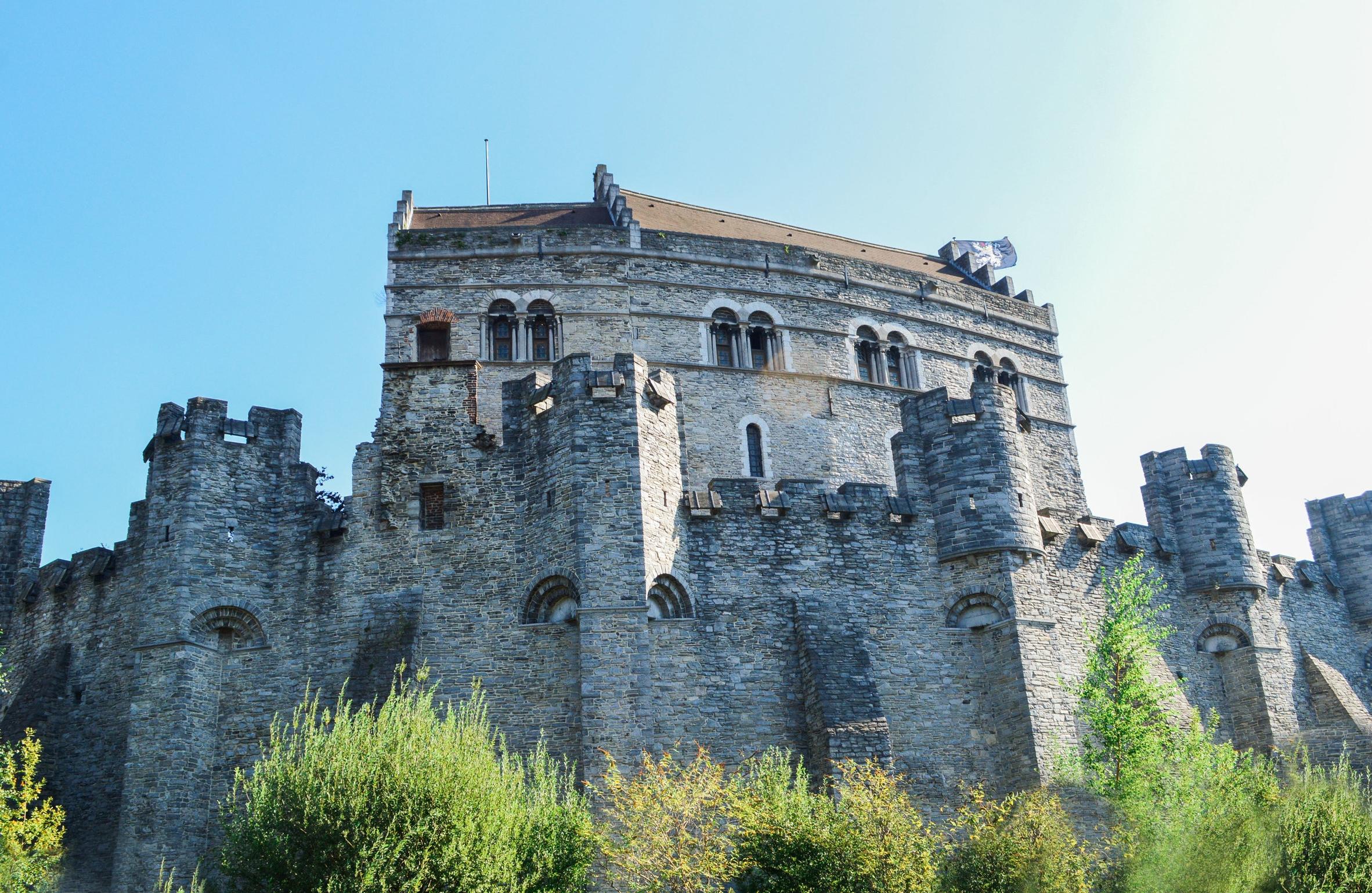 Gravensteen Castle (river view)