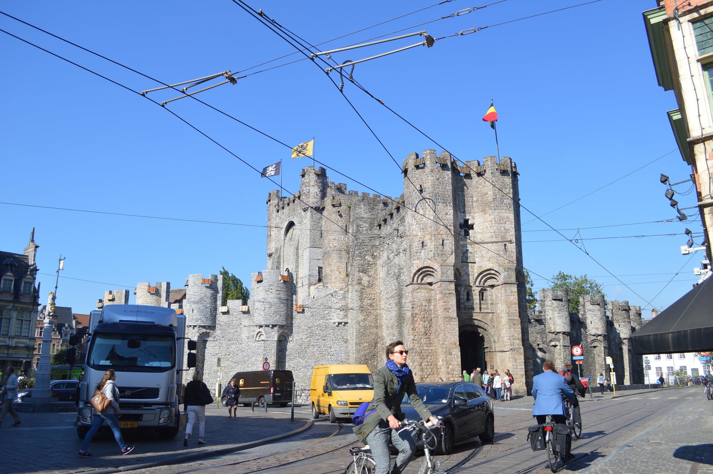 Gravensteen Castle (street view)