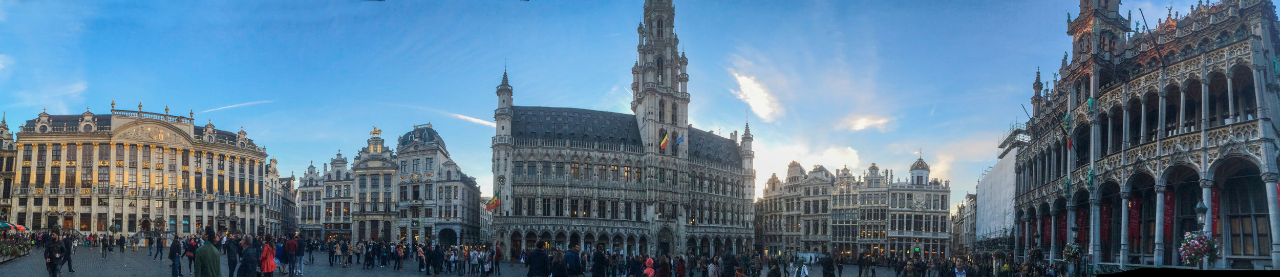 Grote Markt or the Central square of Brussels
