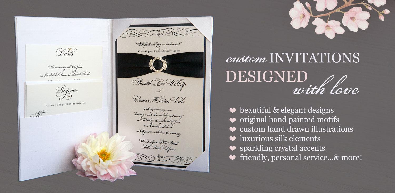 Brenna Catalano Design Studio - Elegant Handmade Wedding Invitations