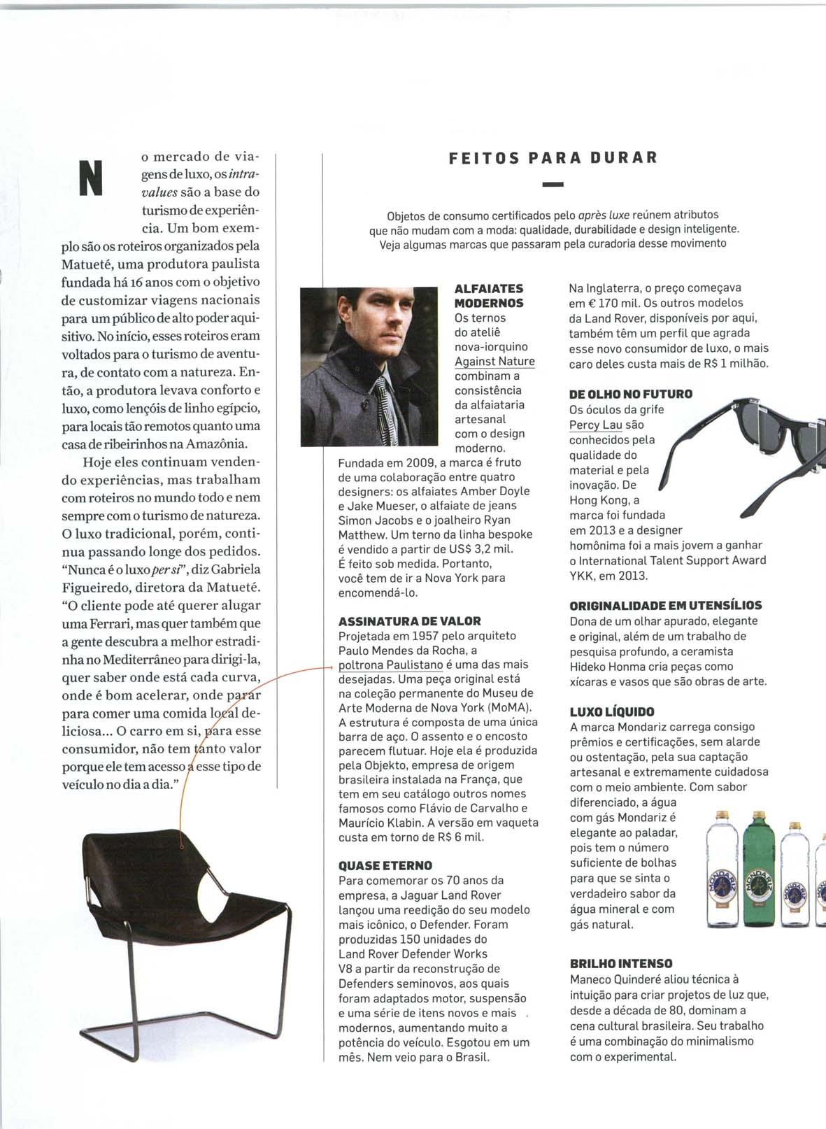 Revista VIP - Fernanda Ralston Semler fala sobre o Pós-Luxo