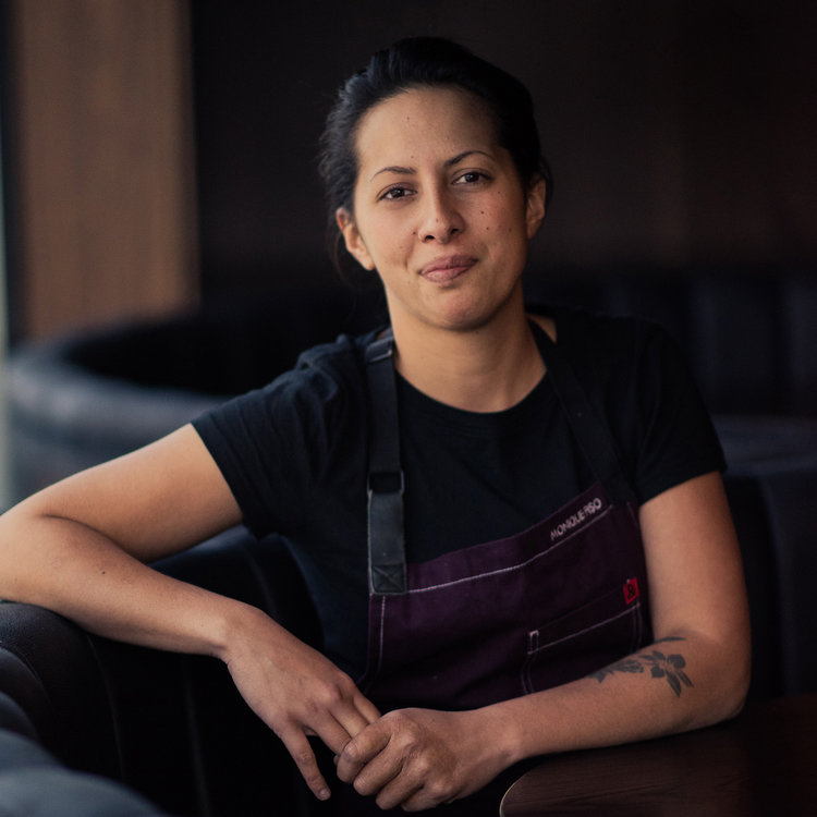 Monique Fiso   Monique Fiso is a lover of cuisine, she is very fast becoming New Zealand's favourite chef. Monique has worked in New York City where Monique trained at top Michelin star kitchens, The Musket Room, PUBLIC Restaurant, & Avoce. In 2016 she returned to New Zealand and began her creative space Hiakai. Using traditional Māori cooking techniques and ingredients in combination with her Michelin training, Fiso has taken Māori cuisine to a whole new level of sophistication and pushed it into the next chapter in its food story.
